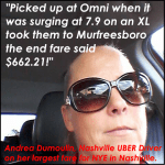 New Year's Eve in Nashville: The Rideshare Surge, $600+ Uber/Lyft rides?
