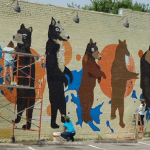 East Nashville Bear Mural: Sneak Preview!
