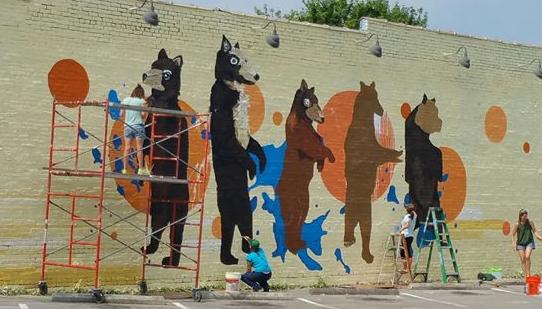 bears - vandalism