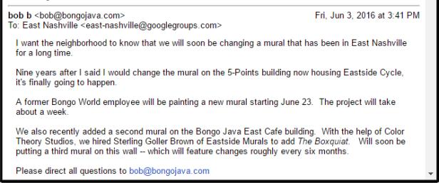 bongo java email