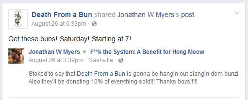 confirmed death bun
