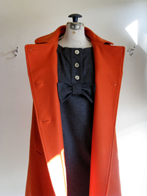 Clothes crush: the red Sessun coat at Eugene Choo