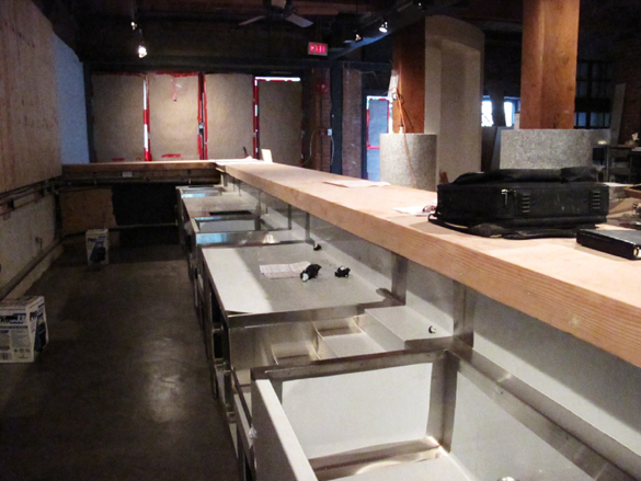 The bar, nearly set and good to go | ScoutMagazine.ca ©