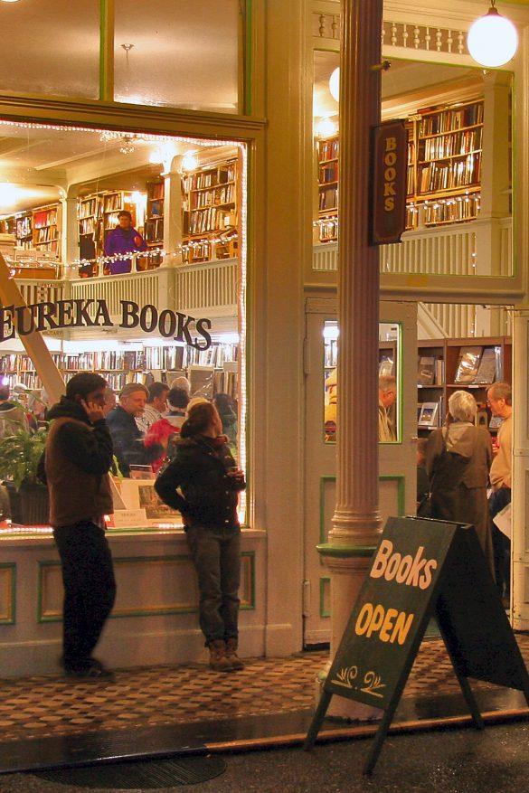 Eureka Books, Eureka CA. USA