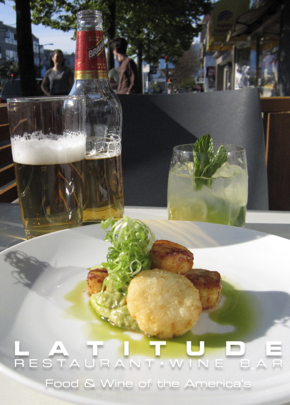Latitude, featuring wine and food of the Americas, is located at 3250 Main St | 604-875-6246 | latitudeonmain.com