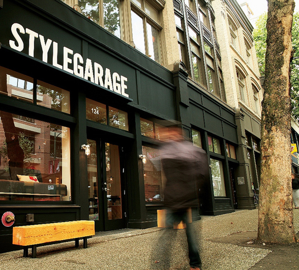 Stylegarage is a retail store located at 124 West Hastings Street in Vancouver, BC | 604.558.4343 | www.stylegarage.com