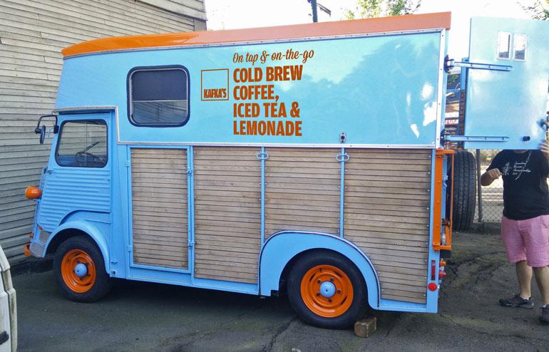 Kafka's Coffee & Tea Goes Mobile With Nitro Cold Brew