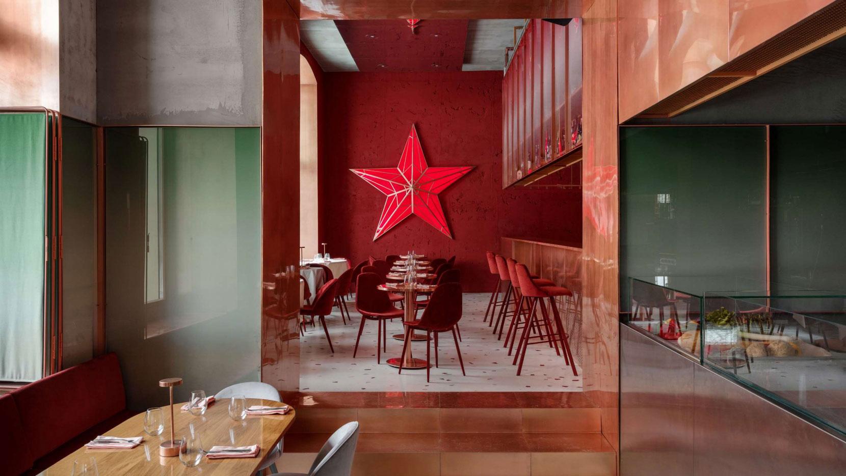 This Elegant, Stalin Era-Inspired Restaurant in Moscow Isn't Very Oppressive