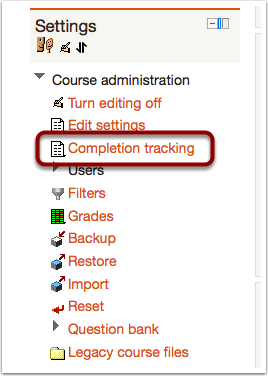 Enable Syllabus Completion