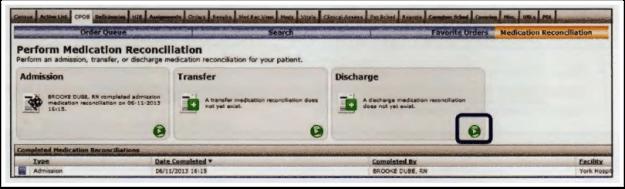 Discharge med rec
