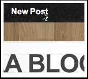 Step 3 - Publishing a post