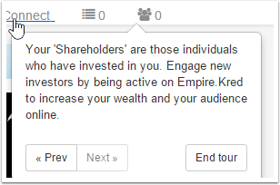 How many players have bought your shares ?