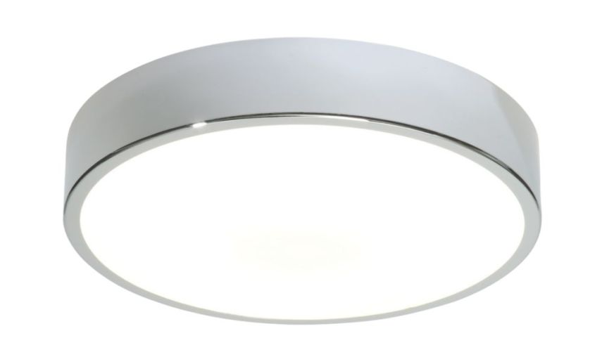 Bathroom Ceiling Lights   Bathroom Lighting   Screwfix com Bathroom Ceiling Light Chrome GR10Q 4 Pin