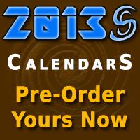 Pre-order 2013 Calendars