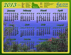 2013 Calendar - Horizon