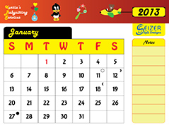 2013 Calendar - KBS