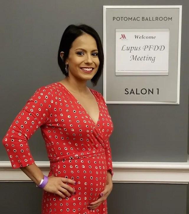 Ayala at the Lupus Patient-Focused Drug Development Meeting