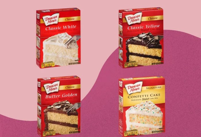 4 Types Of Duncan Hines Cake Mix Recalled Amid Salmonella Outbreak
