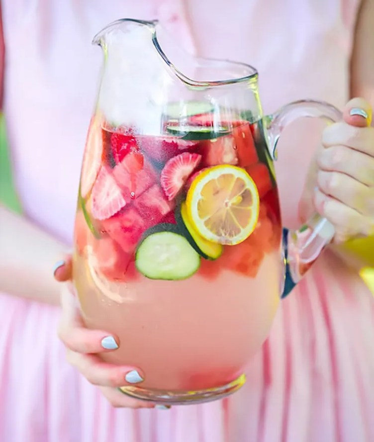 Mixed Fruit Infused Water from Unbound Wellness