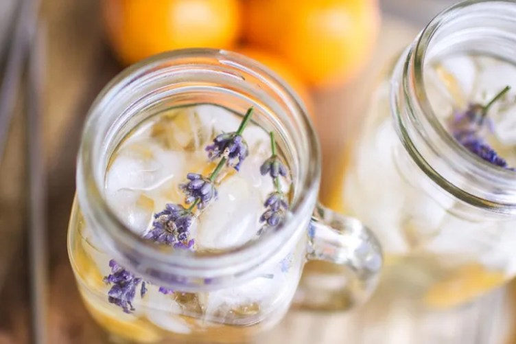 Clementine Chamomile Lavender Water from Oh So Delicioso