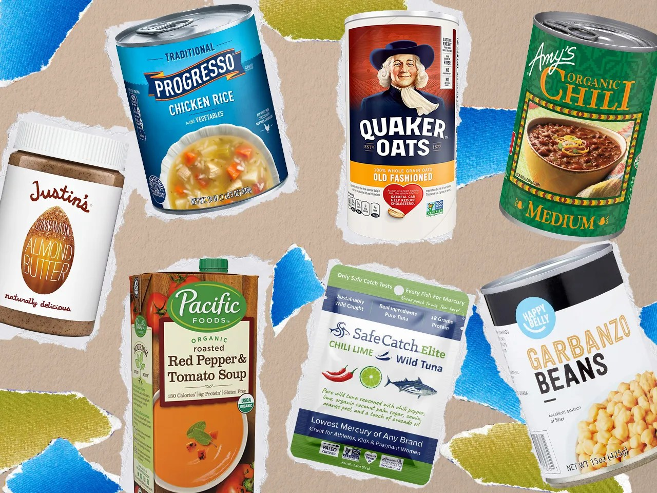 21 shelf stable foods for your