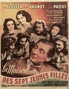 La Maison des sept jeunes filles - Film (1942) - SensCritique