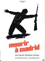 Affiche Mourir à Madrid