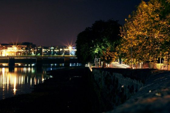 Limerick Ireland nightscape