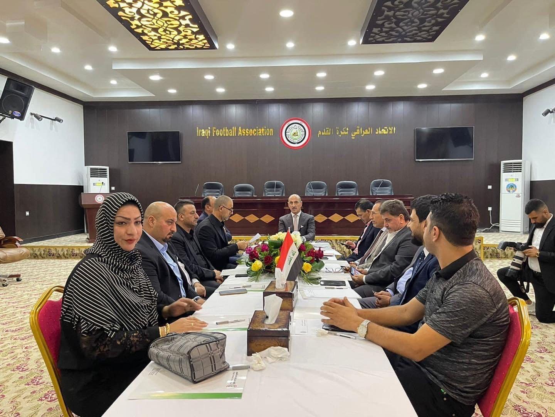 مشوار المنتخب على طاولة أول اجتماع لاتحاد الكرة برئاسة درجال