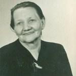 Mormor 70 år - Amanda Josefina Isaksson 1875-1948 från Nedertorneå; gift med Karl Sven Blomkvist och alltså mormor till Gun.