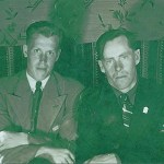 Sten Larsson från Kettisträsk och Edvin Nilsson, Djupträsk.