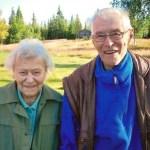 Syskonen Elsa och Nils Henrik i Udtja.