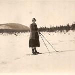Nanny Teilus f Nilsson 1901-1985 från Östrand, Lars Teilus´ hustru.