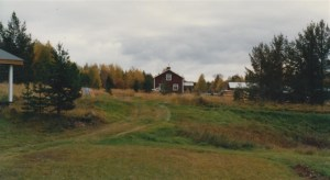 Vy från Nymans mot Mika. Foto: Willy Enlund