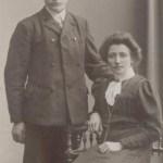 Isak Johan Pettersson (Broström) 1882-1996 från Rörtjärn med hustru Hanna Mattsson 1882-1933, Rödingsträsk, det enda av Mattias Mattssons barn som uppnådde vuxen ålder. I detta äktenskap föddes inga barn.