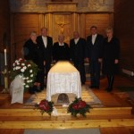Vid Sune Erikssons begravning 2008 i Edefors kyrka. Kommentar: 2015-09-18 21:27:54