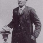 Mattias Lars Edman 1870-1907, kallades Matto, Rödingsträsk.