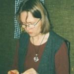 Djup koncentration I; Lilian M sömmar. Foto: Agneta S