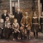 Familjen Blomkvist i Södra Harads.