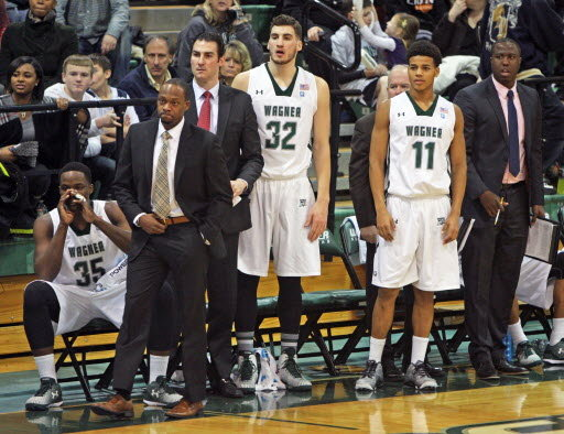 Bashir Mason has yet to see his Wagner team break through the NEC tournament to a championship. Will 2016-17 be the season it happens? (Photo: silive.com)