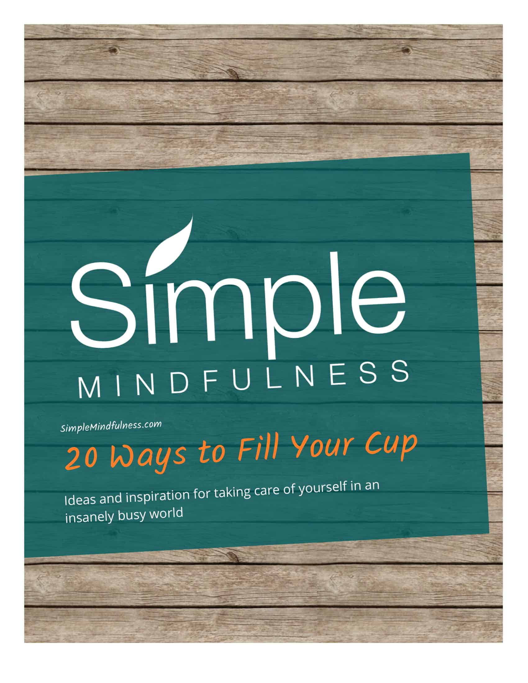 Free Guides And Resources From Simple Mindfulness
