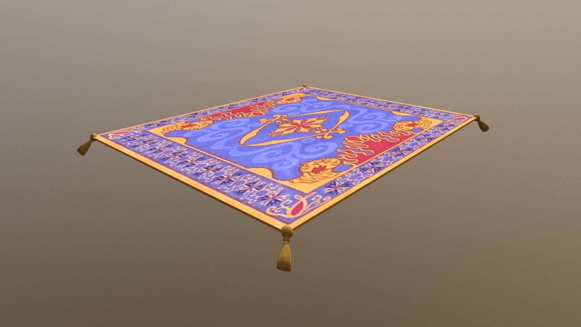 Aladdin S Magic Carpet Download Free 3d Model By Kremit Kremit 2c363d4 Sketchfab
