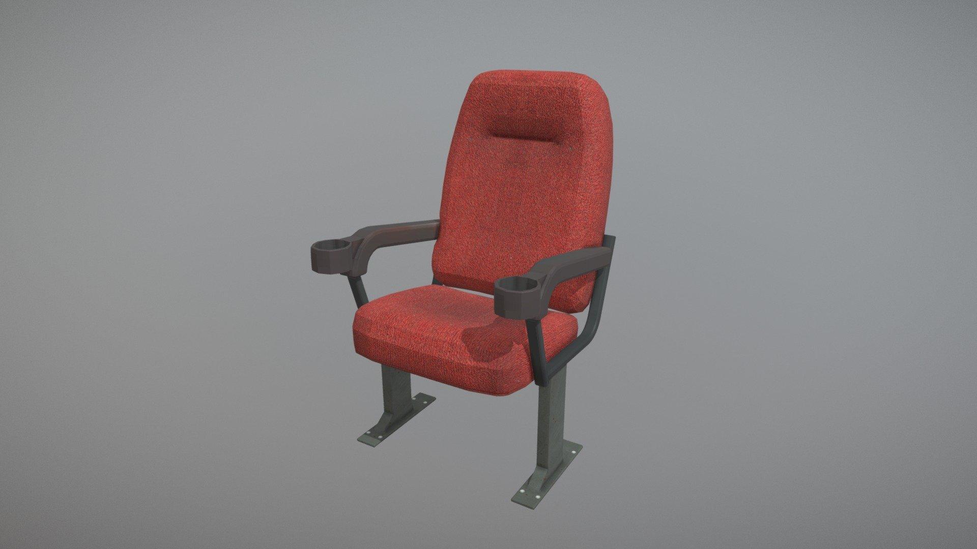 Movie Cinema Chair Buy Royalty Free 3d Model By Gabriel Quintana Gabrielquintana 44ea3b6 Sketchfab Store
