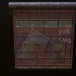 Rust Skin Garage Door 3d Model By Milos Baskic Milosbaskic E660a4d Sketchfab
