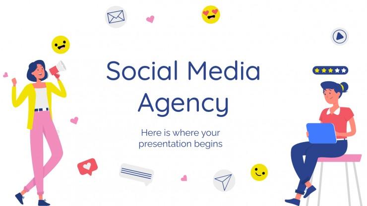 Agence de réseaux sociaux : Modèles de présentation