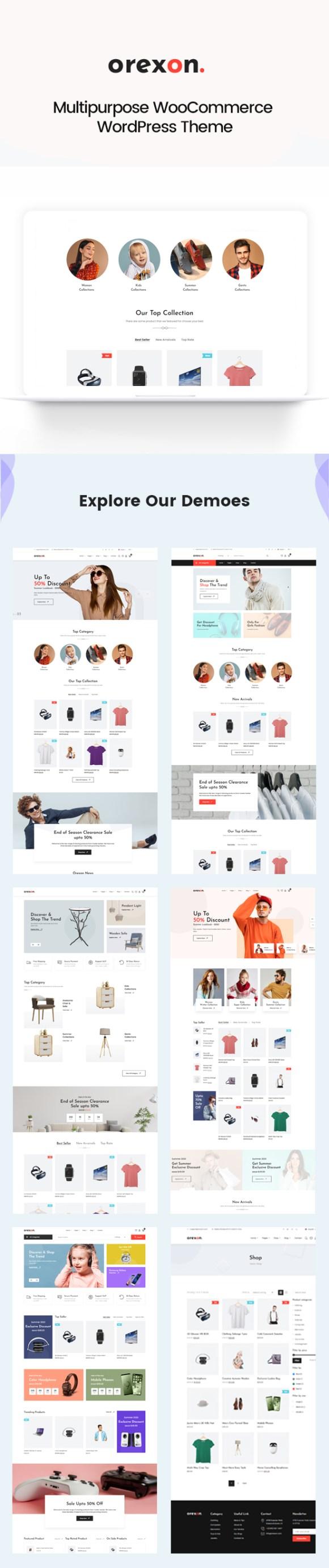 Orexon - Multipurpose WooCommerce WordPress Theme - 2
