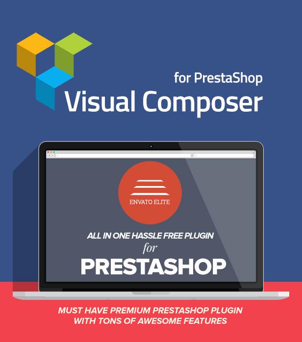 Visual Composer: Page Builder for Prestashop - 1