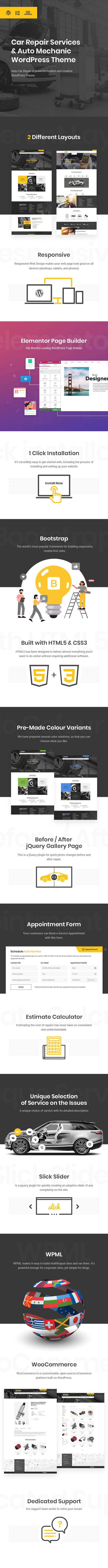 Car Repair Services & Auto Mechanic WordPress Theme + RTL - 4
