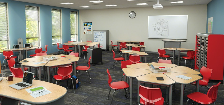 Collaborative Learning Environment Classroom Furniture