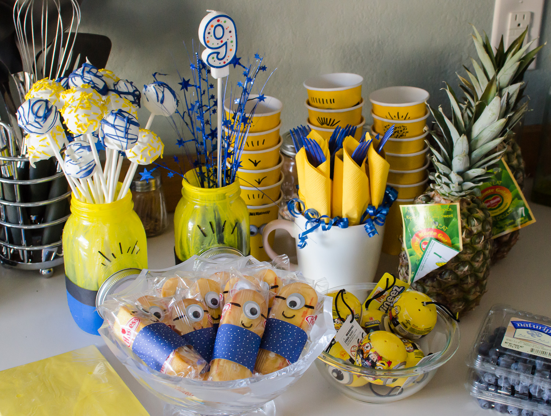 Minions Birthday Party Ideas Allmomdoes